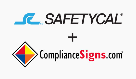 SAFETYCAL and ComplianceSigns.com logos